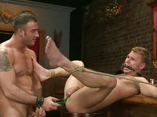 excited homo man acquires roughly double drilled
